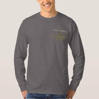 Camiseta De Mangas Largas Bordada ¡Rocas de búsqueda idas del retiro!