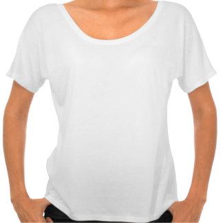 Camiseta de marfil de Bella Flowy de los rosas de