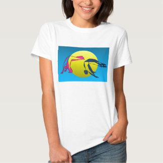 Camiseta de Mata del capoeira de la camisa um