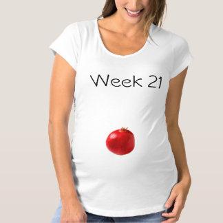 Camiseta de maternidad 21 semanas