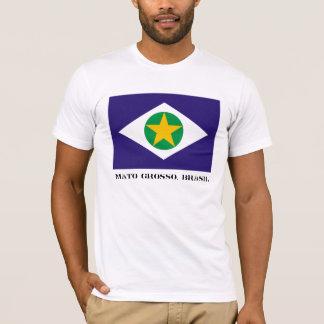 Camiseta de Mato Grosso (con las letras)