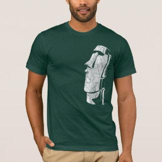 Camiseta de medianoche de Moai Tiki