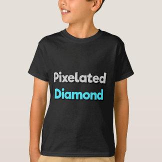 Camiseta de Merch del diamante de Pixelated