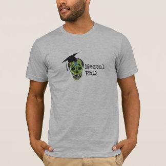 Camiseta de Mezcal PhD American Apparel - gris