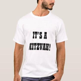 Camiseta de Mitzvah