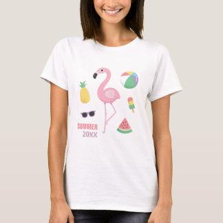 Camiseta de moda de los chicas de Luau del