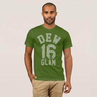 Camiseta de moda del clan 16 del rocío