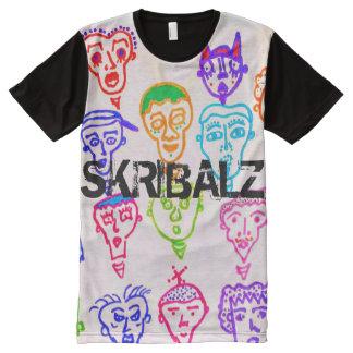 camiseta de muchas caras