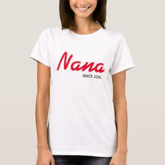 Camiseta de Nana desde 2016