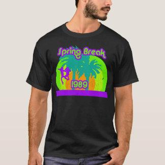 Camiseta de neón 80s de las vacaciones de
