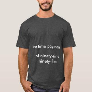 Camiseta de noventa y nueve noventa y cinco