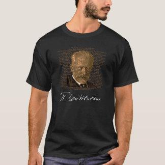 Camiseta de oro de los deletreos de Tchaikovsky