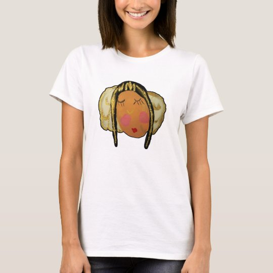 Camiseta DE ORO del ÁNGEL el DORMIR