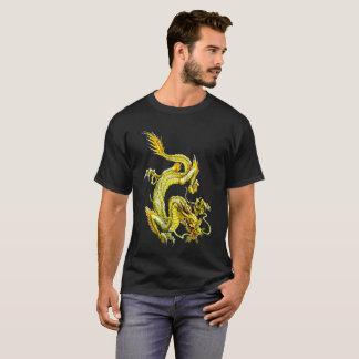 Camiseta de oro del dragón