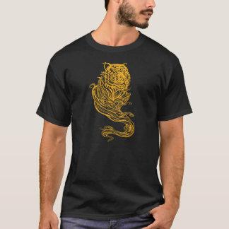 Camiseta de oro del tigre