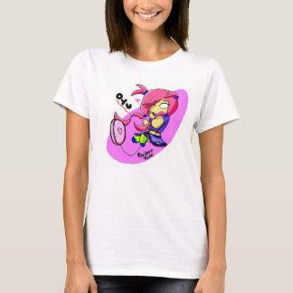 Camiseta de Oyu w/yo-yo del error tipográfico