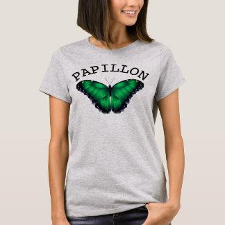 Camiseta de Papillon de la mariposa de las mujeres