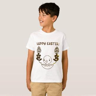 """Camiseta de """"Pascua feliz"""" de los niños"""