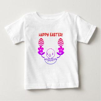 """Camiseta de """"Pascua feliz"""" del bebé"""