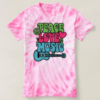 Camiseta ❤ de Peace✌Love del ☮ y 🎼 de la música