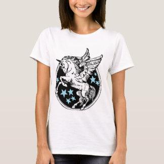 Camiseta de Pegaso del unicornio del vuelo