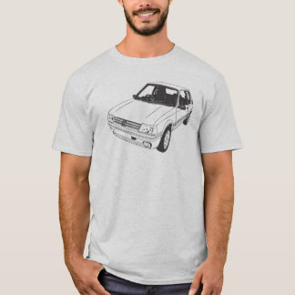 Camiseta de Peugeot 205 GTi