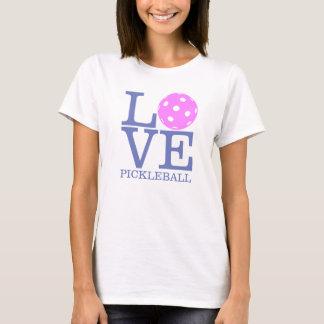 "Camiseta Camiseta de Pickleball de las mujeres: ""AMOR"""