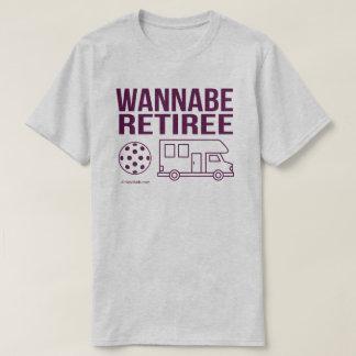 """""""Camiseta de Pickleball del jubilado del imitador"""" Camiseta"""