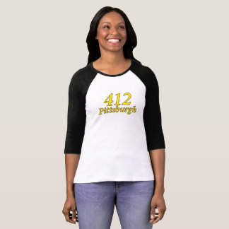 CAMISETA DE PITTSBURGH 412