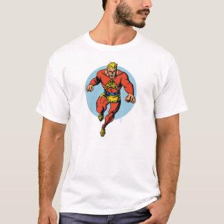 Camiseta de plata de la raya