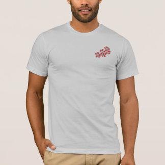 Camiseta de Poketr del drogadicto de la acción