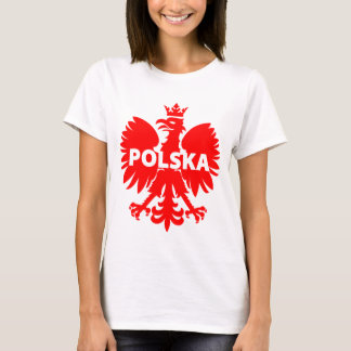 Camiseta de Polonia Polska Eagle de las mujeres