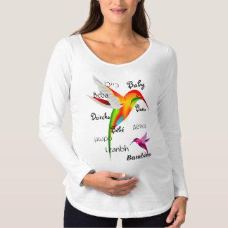 Camiseta De Premamá 10 maneras de decir al bebé