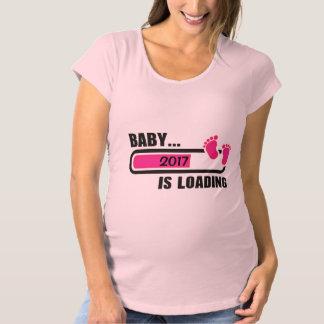 Camiseta De Premamá Cargamento de la niña modificado para requisitos