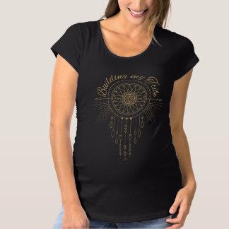Camiseta De Premamá Construcción de mi tribu