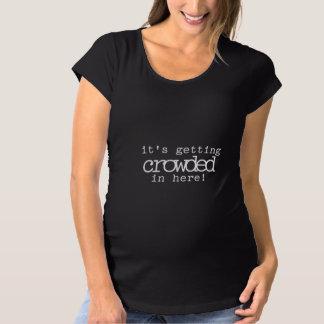 Camiseta De Premamá El conseguir apretado en aquí maternidad