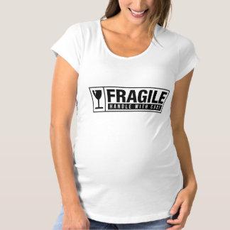 Camiseta De Premamá Frágil dirija con cuidado