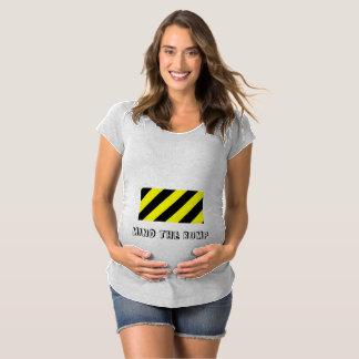 Camiseta De Premamá Importe del diseño de maternidad del topetón