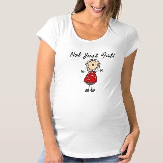 Camiseta De Premamá No apenas gordo