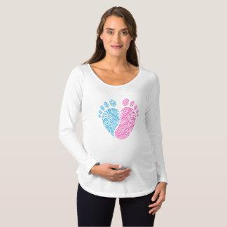 Camiseta De Premamá Pasos del bebé
