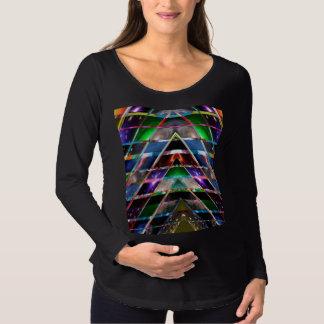 Camiseta De Premamá PIRÁMIDE - disfrute del espectro de energía
