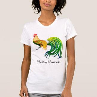 Camiseta de princesa Fancy Rooster Ladies de las