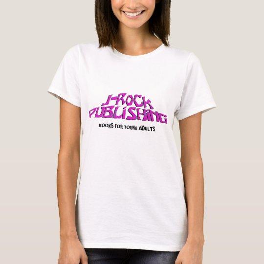 Camiseta de publicación del logotipo de las