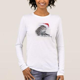 Camiseta de Purrfect Santa