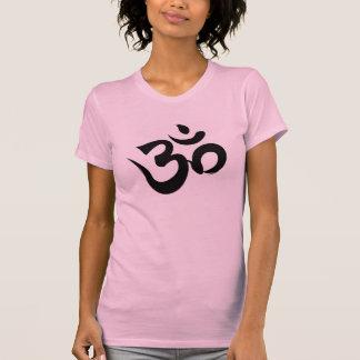 Camiseta de Racerback de la yoga de OM Sri Yantra