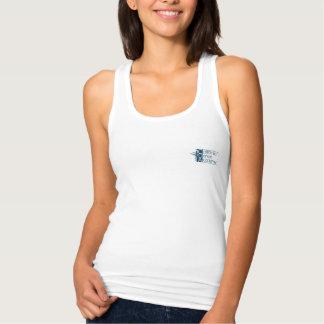 Camiseta de Racerback de las mujeres