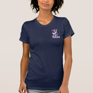 Camiseta de Racerback de las mujeres del gimnasta