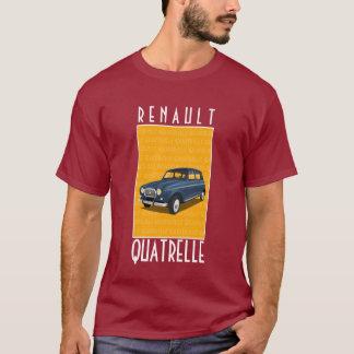 """Camiseta de Renault 4L """"Quatrelle"""""""