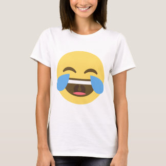 Camiseta de risa de Emoji