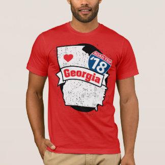 Camiseta de Roadtrip Georgia '18 (roja)